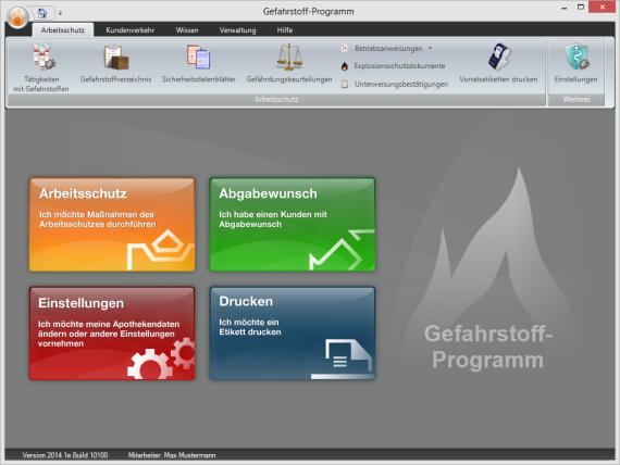 Startbildschirm-Gefahrstoff-Programm-fuer-Apotheken-2014.1